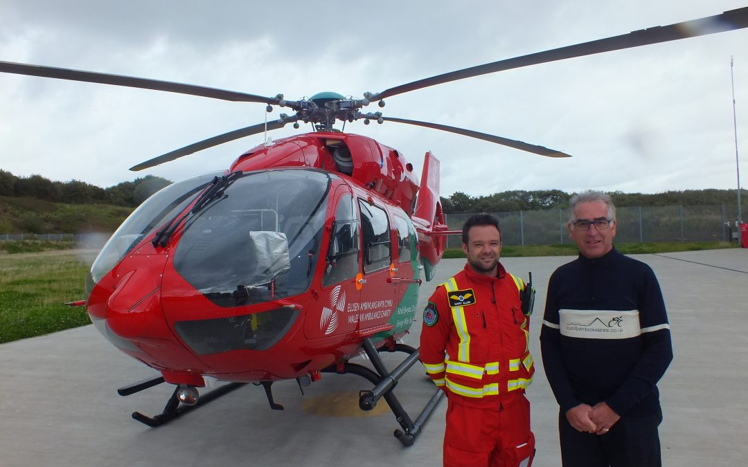 Raise Money For Wales Air Ambulance