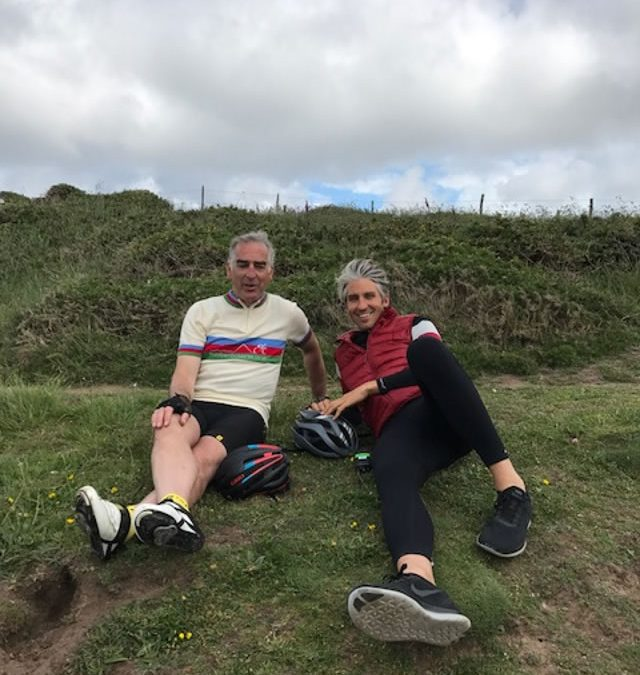 Tour of Pembrokeshire on Channel 5 with Larry and George Lamb