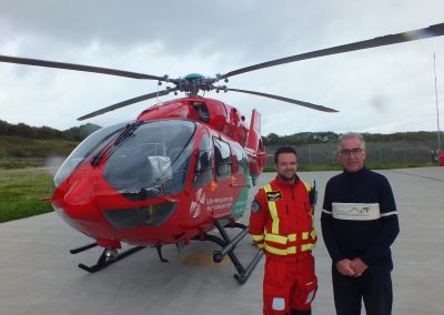 Peter with Wales Air Ambulance