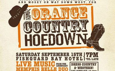 Fantastic charity hoedown event