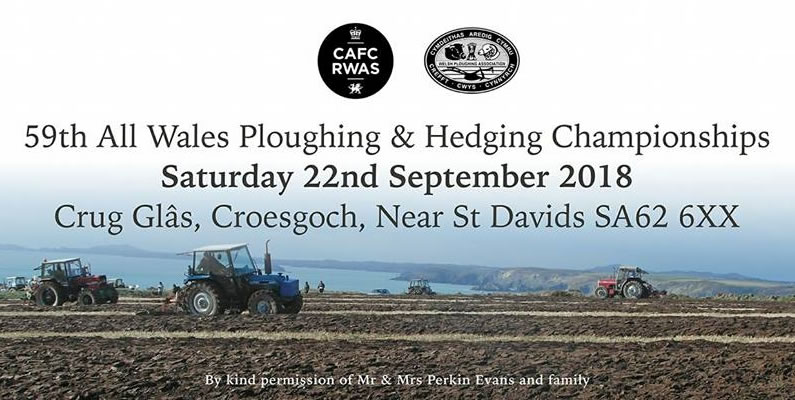 Home of the Tour hosts All Wales Ploughing and Hedging Championships