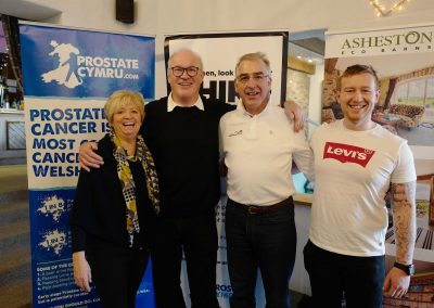 Judith, Eddie, Peter and Owen Prostate Cymru