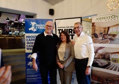 With Llinos Lloyd, from Lloyds Volvo Aberaeron