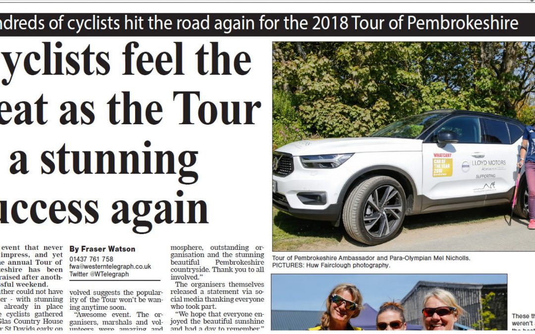 Western Telegraph 2018 Tour of Pembrokeshire