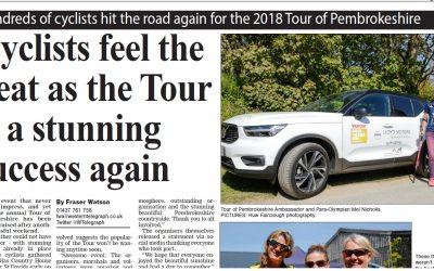Western Telegraph 2018 Tour of Pembrokeshire